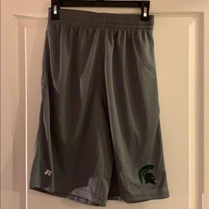 Russell Athletic Michigan State Basketball Shorts